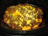 Crockpot Cheeseburgers 