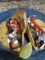 Chili & Portobello Mushroom Tacos