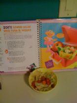 Zoe's Bowtie Salad with Tuna & Veggies