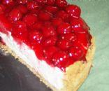 Classic Cherry Cheesecake