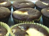 Low Fat Chocolate Cream Cheese Cupcakes