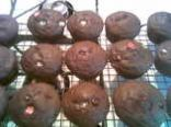Chocolaty Chocolate Chip Whole Wheat Muffins