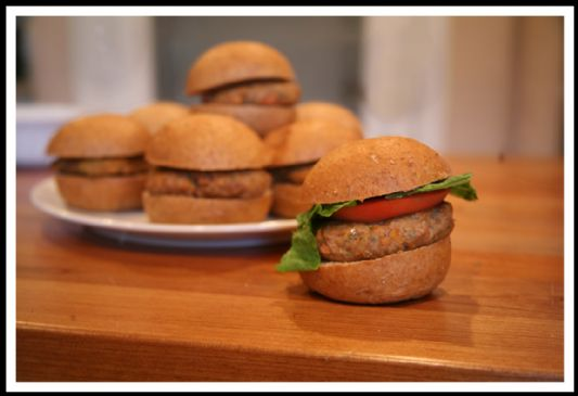 Turkey Burger - Sliders