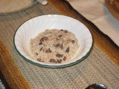 Nana's Rice Pudding