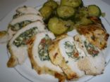 Herbed Spinach, Feta, Ricotta stuffed Chicken