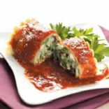 Spinach Lasagna Roll-Ups
