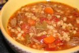 Moms Famous Beef Barley Soup 