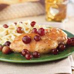Pan-Seared Chicken with Red Grapes