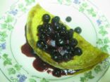 Vanilla Blueberry Omelet