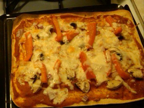 Phoenix107's Veggie Pizza