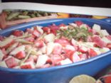 Warm Sausage Potato Salad/Casserole