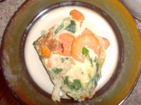Spanish-Style Sweet Potato Tortilla