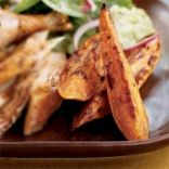 Sweet and Spicy Potato Oven Fries