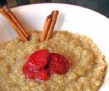 Quinoa Porridge (Gluten Free)