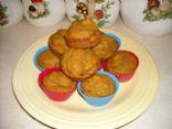 Lite Butternut Squash Muffins