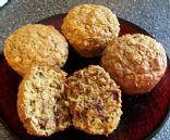 Cranberry Apple Whole Wheat Muffins