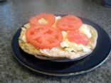 Beans, Egg and Tomato Pita