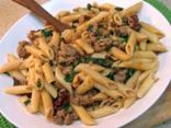 Penne Rigate with Turkey, Swiss Chard