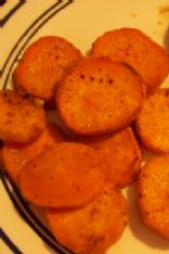 Spicy Baked Sweet Potato Rounds