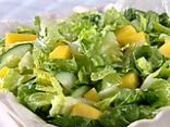 Mango Cucumber Green Salad