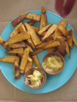 Curried Sweet Potato Fries