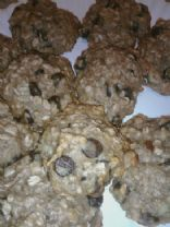 Banana Oatmeal Chip Cookies