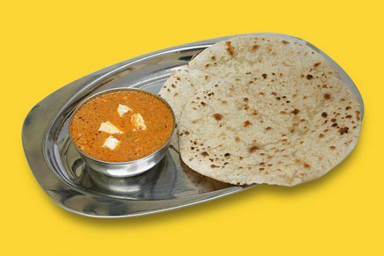 whole wheat chappati