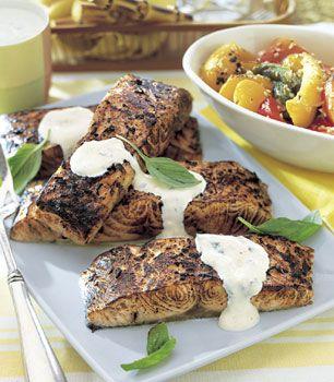 Baked Salmon Fillets