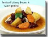Braised Beans And Sweet Potato Stew