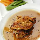 Chicken in marsala wine sauce