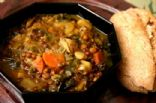 Indian Spiced Lentils with Kale