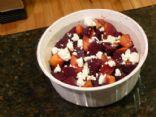 Beet-Peach Salad