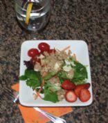 Tuna on Salad