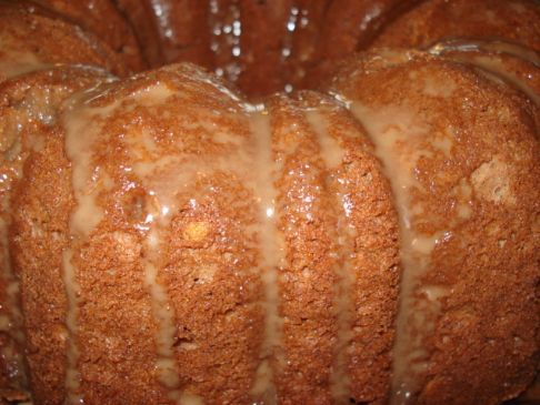 Mocha Rum Cake Recipe | SparkRecipes
