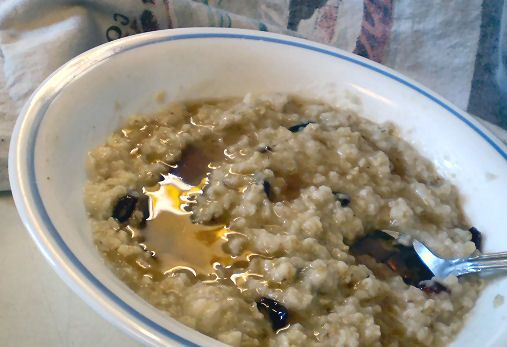 My favorite Maple Brown Sugar Oatmeal