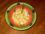 Sweet scallop couscous