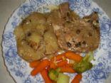 Creamy Crockpot Pork & Potatoes