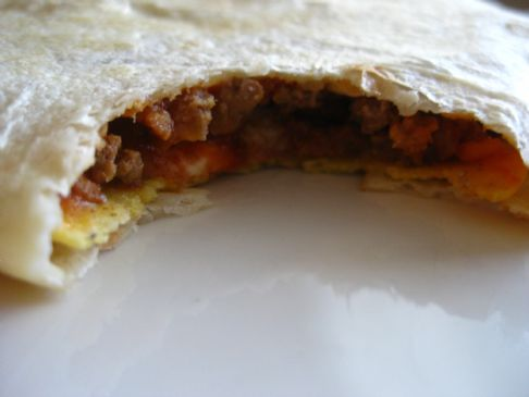 Crunchwrap Super-Supreme: SparkRecipes Un-Chained Recipe Contest Finalist 