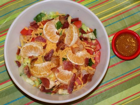 The 3 C's-Crunchy Carolina Chicken Salad