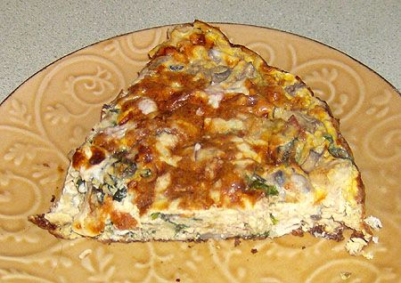 Sandra's Breakfast Fritada with Chicken