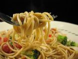 Roasted Garlic and Vegetable Spaghetti