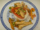 Chicken and Edamame Stir-fry