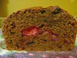 Whole Wheat Strawberry Bread