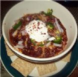 Spicy Black Bean Vegetarian Chili