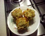 Savory Salami Muffins
