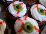 Rich Red - Eye Cupcakes