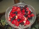 Fresh fruit mix