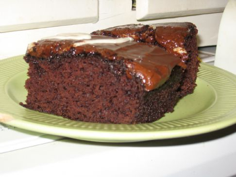 Chocolate on Vegan Low Fat Chocolate Applesauce Cake Submitted By Woodlandmyst