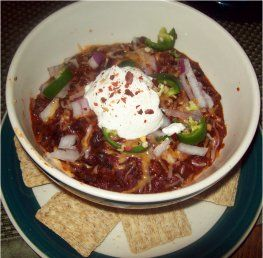 Spicy Black Bean Vegetarian Chili