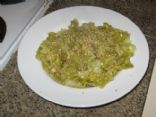 Sesame Leeks and Cabbage